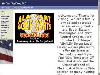 Ala Cart Golf Carts 500 Wellsian Way C Richland Benton
